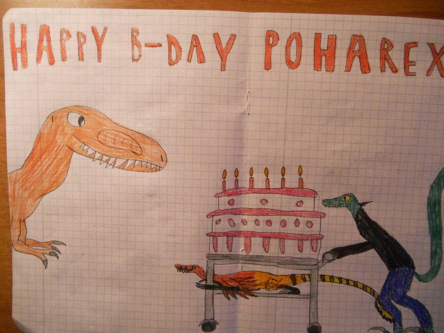 Poharex Birthday Present - By Veress Laszlo