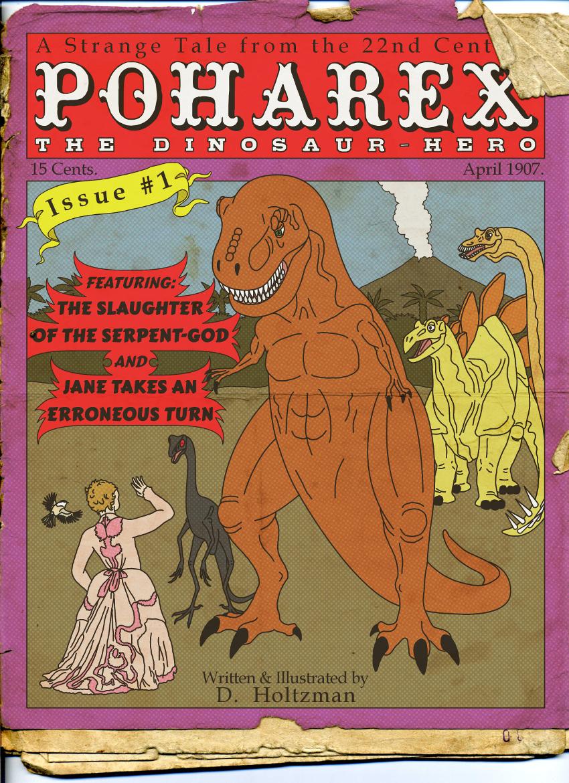 Poharex Retro Pulp Magazine